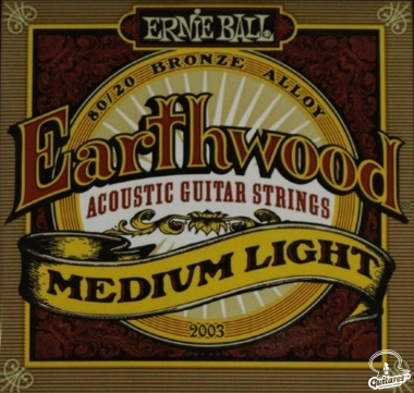 Струны Ernie Ball Earthwood 2003, 12-54