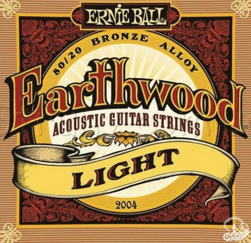 Струны Ernie Ball Earthwood 2004, 11-52