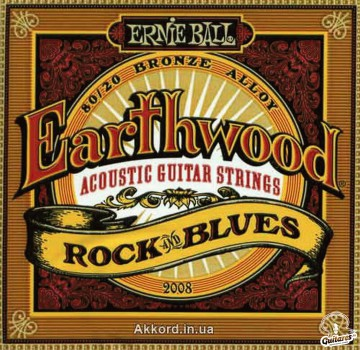 Струны Ernie Ball Earthwood 2008, 10-52